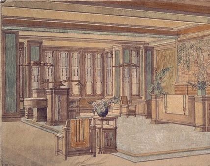 C. Thaxter Shaw House, Living Area, 1906_slideshow