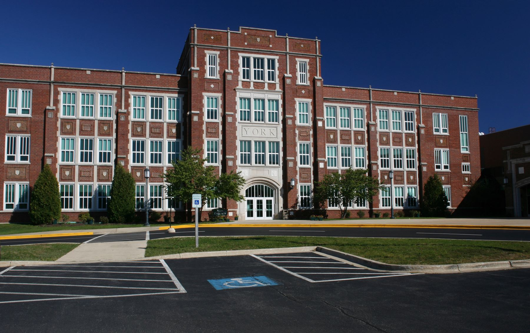 York High School main entrance_2